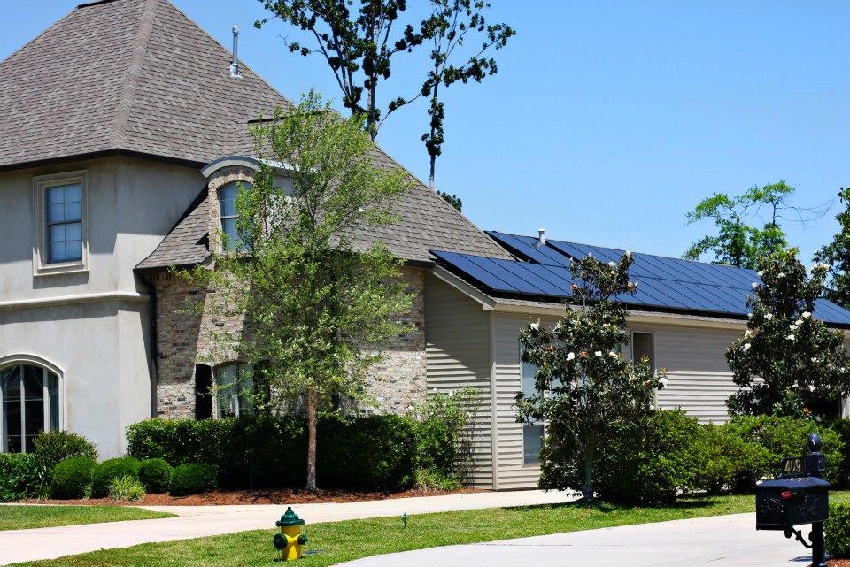Solar panels in Houston Texas